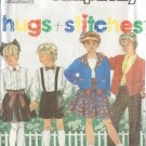 SIMPLICITY VTG 1990 PTRN 9938 SZ 2-6X CHILD'S PANTS SHORTS SKIRT SHIRT CARDIGAN