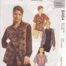 McCall's Pattern 8464 dated 1996 size XL 20/22 Misses' Top 2 Lengths UNCUT