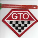 """GTO  PATCH 5 1/2"""" X 5"""" IRON ON OR SEW ON"""
