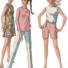 SIMPLICITY VINTAGE PATTERN 7591 SIZE 10 MISSES' DRESS BLOUSE PANTS SHORTS