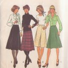 SIMPLICITY VINTAGE PATTERN 7625 SIZE 14 MISSES' SKIRTS IN 2 LENGTHS UNCUT
