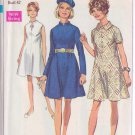 SIMPLICITY PATTERN 8057 SIZE 38 MISSES' DRESS IN 3 VARIATIONS