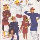 McCALL'S 1986 PATTERN 2634 GIRLS' SIZE 10 DRESS TUNIC SKIRT PANTS LEGGINGS