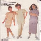 McCALL'S PATTERN 3270  SIZE SMALL 7 GIRL'S TOP, SKIRT, PANTS & TRANSFER UNCUT