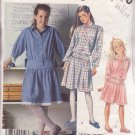 McCALL'S PATTERN 3260 GIRL'S SIZE 10 DRESS 3 VARIATIONS