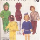 McCALL'S PATTERN 3186 CHILD'S TOP, PANTS & SHORTS SIZE 4 UNCUT