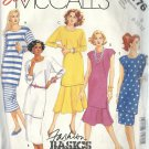 McCALL'S PATTERN 3176 MISSES' SIZE 8 TUNIC AND SKIRTS