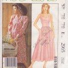McCALL'S PATTERN 2965 SIZE 6 MISSES' LAURA ASHLEY JACKET & DRESS