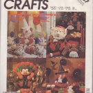 McCALL'S PATTERN 3367 DATED 1987 FOR HOLIDAY TABLE DECORATION #2