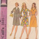 McCALL'S PATTERN 3445 MISSES' SIZE 14 DRESS IN 3 VARIATIONS