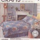 McCALL'S CRAFT PATTERN 2973 BEDROOM ESSENTIALS 7 DIFFERENT PATTERNS UNCUT