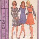 McCALL'S PATTERN 3308 SZ 14 MISSES' DRESS OR JUMPER