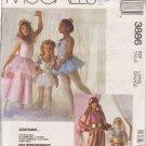 McCALL'S PATTERN 3886 CHILD'S COSTUMES HAREM GIRL,GYPSY,PRINCESS,FAIRY,BALLERINA