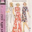 McCALL'S PATTERN 4062 SIZE 14 MISSES' DRESS OR TOP 2 VERSIONS, PANTS UNCUT
