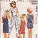 McCALL'S PATTERN 4238 SIZES 7/8/10 CHILD'S TOPS, SKIRT, PANTS AND SHORTS