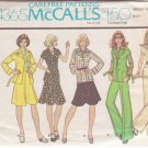 McCALL'S 1974 PATTERN 4365 SIZE 14 MISSES' JACKET, SKIRT AND PANTS