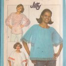 Simplicity pattern 8206, dated 1977, Size 14 Misses' Tops in 3 Variations