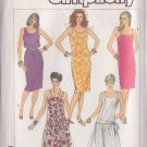 SIMPLICITY PATTERN 7494 SIZE 16 MISSES' DRESS IN 3 VARIATIONS