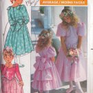 BUTTERICK PATTERN 3038 GIRL'S DRESS IN 2 VARIATIONS SIZES 7 AND 8