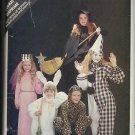 BUTTERICK PATTERN 3372 b SIZE S/M/L GIRL'S COSTUMES CLOWN WITCH PRINCESS RABBIT CAT