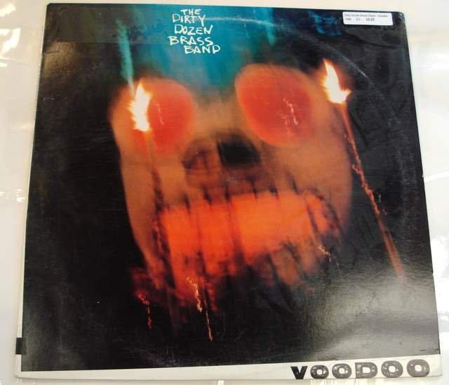 The Dirty Dozen Brass Band Voodoo 1989 LP