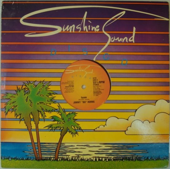 "Jimmy ""Bo"" Horne - Spank 1979 Disco 12"""