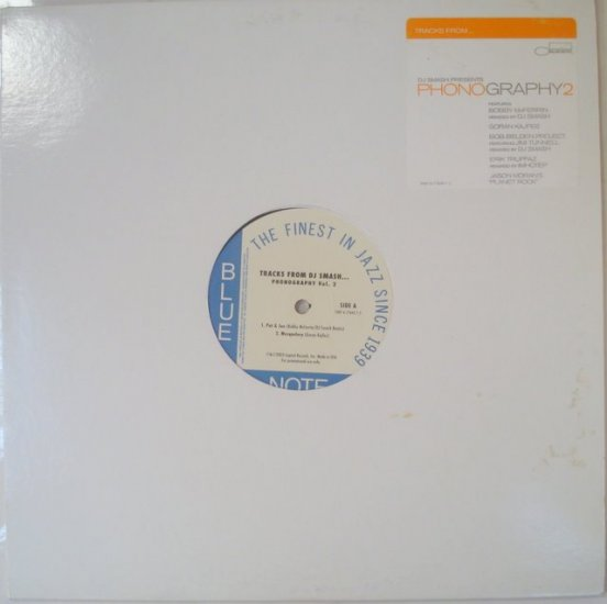 "Tracks from DJ Smash 12"" LP"