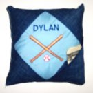 PERSONALIZED TOOTH FAIRY PILLOW - BASEBALL