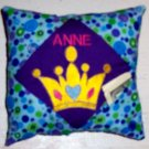 PERSONALIZED tooth fair pillow - CROWN PRINCESS