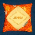 PERSONALIZED tooth fairy pillow FLOWER POWER