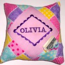 PERSONALIZED tooth fairy pillow BOUTIQUE PINK