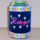 PERSONALIZED EMBROIDERED Koozie Can Cover Wrap