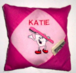 PERSONALIZED TOOTH FAIRY PILLOW - ADORABLE!