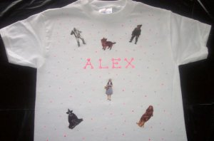PERSONALIZED TODDLER/YOUTH SHIRT - WIZARD OF OZ!!!