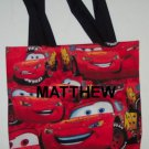 PERSONALIZED Tote Book Bag  - CARS!!