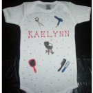 PERSONALIZED  ONESIE - SALON HAIRDRESSER!!