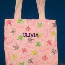 PERSONALIZED Tote Book Bag for a PRINCESS!!