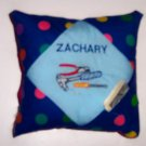 PERSONALIZED Tooth Fairy Pillow  - CONSTRUCTION TOOLS!!