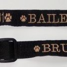PERSONALIZED  DOG COLLAR Pet ID Tag - Name and Phone!