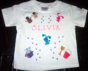 PERSONALIZED TODDLER/YOUTH SHIRT - BLUES CLUES!!