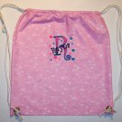 PERSONALIZED Pink SPARKLY Backpack Book Bag