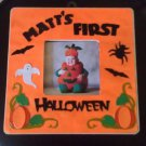 PERSONALIZED Decorated Picture Frame for Baby's First Halloween!