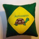 PERSONALIZED Tooth Fairy Pillow - TURTLE - ANIMAL