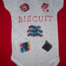 PERSONALIZED ONESIE FOR THE BABY OF A BUNCO PLAYER!!