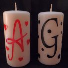 PERSONALIZED Candle - Valentine's Day or whenever!