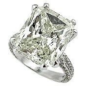18K White Gold Diamond Multi Stone Ring - You Save $116,169.05