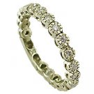 18K Yellow Gold Diamond Tennis Band - You Save $539.03