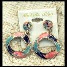 Michelle Scott Earrings Seventies Mod Style Earrings