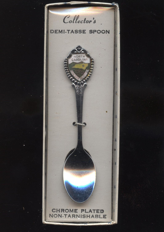 North carolina tarheel state collector spoon