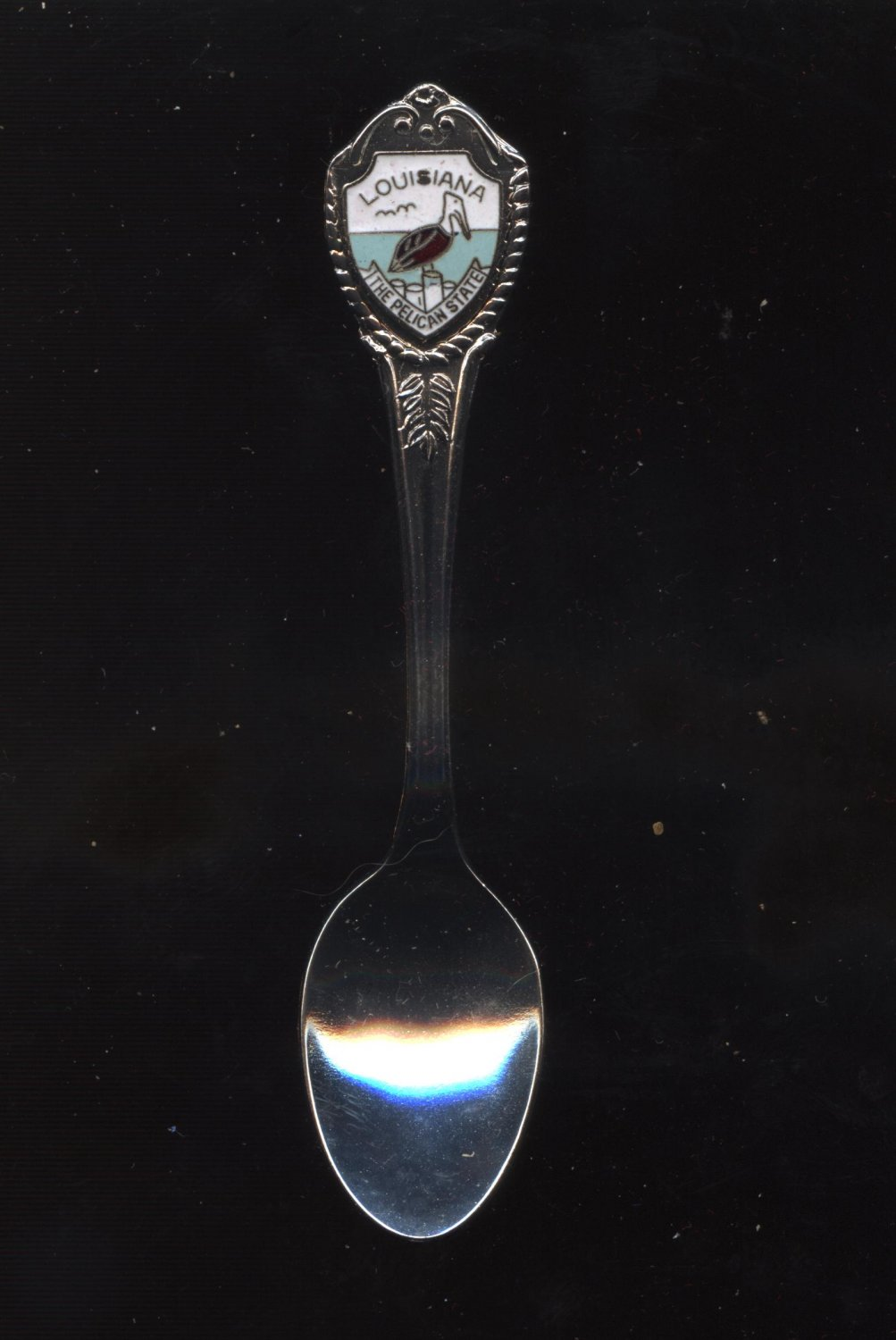 Louisiana the pelican state collector spoon